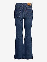 LEVI´S Women - RIBCAGE BOOT TURN UP - schlaghosen - med indigo - worn in - 1