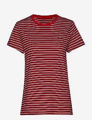 LEVI´S Women - PERFECT TEE KORONIS BRILLIANT - t-shirts à rayures - reds - 0