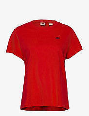 LEVI´S Women - PERFECT TEE POPPY RED - t-shirts - reds - 0