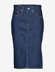LEVI´S Women - SLIDE SLIT SKIRT JUNIPER RIDGE - jupes en jeans - dark indigo - flat finish - 0
