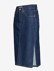 LEVI´S Women - SLIDE SLIT SKIRT JUNIPER RIDGE - jupes en jeans - dark indigo - flat finish - 2