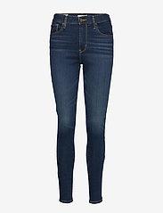LEVI´S Women - 720 HIRISE SUPER SKINNY SALT L - skinny jeans - dark indigo - worn in - 0
