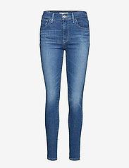 LEVI´S Women - 720 HIRISE SUPER SKINNY LOVE R - skinny jeans - med indigo - worn in - 0