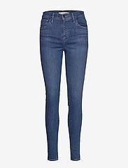 LEVI´S Women - 720 HIRISE SUPER SKINNY ECLIPS - skinny jeans - med indigo - worn in - 0