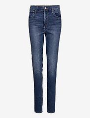 LEVI´S Women - 720 HIRISE SUPER SKINNY FIERY - slim jeans - med indigo - worn in - 0