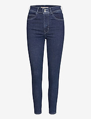 LEVI´S Women - MILE HIGH ANKLE DBL SHNK BYE F - skinny jeans - dark indigo - worn in - 0