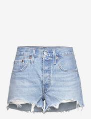 LEVI´S Women - 501 ORIGINAL SHORT LUXOR HEAT - jeansshorts - light indigo - worn in - 0
