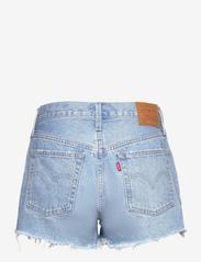 LEVI´S Women - 501 ORIGINAL SHORT LUXOR HEAT - jeansshorts - light indigo - worn in - 1