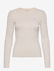 LEVI´S Women - LS BABY TEE AYA MARBLE HEATHER - strikkede toppe - multi-color - 0