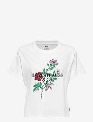 LEVI´S Women - GRAPHIC VARSITY TEE 90S TEXT L - t-shirts imprimés - neutrals - 0