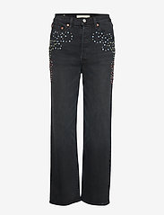LEVI´S Women - RIBCAGE STRAIGHT ANKLE BORDER - straight jeans - blacks - 0