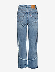 LEVI´S Women - RIBCAGE STRAIGHT ANKLE ON THE - straight jeans - med indigo - worn in - 1