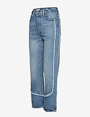 LEVI´S Women - RIBCAGE STRAIGHT ANKLE ON THE - straight jeans - med indigo - worn in - 2