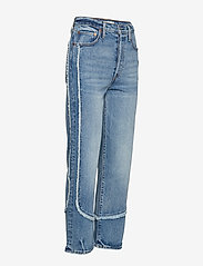 LEVI´S Women - RIBCAGE STRAIGHT ANKLE ON THE - straight jeans - med indigo - worn in - 3