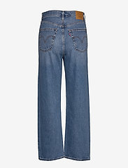 LEVI´S Women - RIBCAGE STRAIGHT ANKLE AT THE - brede jeans - med indigo - worn in - 3