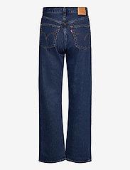 LEVI´S Women - RIBCAGE STRAIGHT ANKLE NOE DAR - brede jeans - dark indigo - flat finish - 1