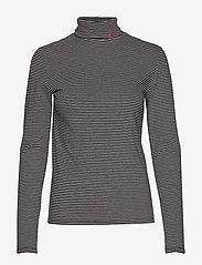 LEVI´S Women - KNIT TURTLENECK LOGO KNIT TURT - t-shirts à rayures - neutrals - 0