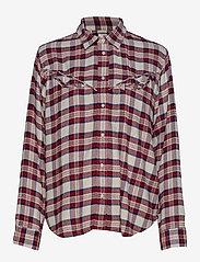 LEVI´S Women - DORI WESTERN SHIRT PATRIDGE HE - chemises à manches longues - multi-color - 0