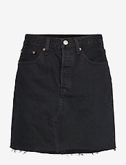 LEVI´S Women - HR DECON ICONIC BF SKIRT LEFT - denimskjørt - blacks - 0
