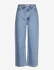 LEVI´S Women - BALLOON LEG MY END GAME - szerokie dżinsy - light indigo - flat finis - 0