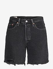 LEVI´S Women - 501 MID THIGH SHORT LUNAR BLAC - jeansshorts - blacks - 0
