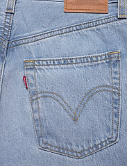 LEVI´S Women - HIGH LOOSE TAPER WAY OUT TENCE - mom jeans - med indigo - worn in - 4