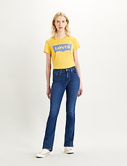 LEVI´S Women - 725 HIGH RISE BOOTCUT BOGOTA T - flared jeans - dark indigo - worn in - 0