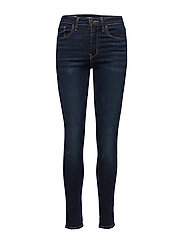 721 HIGH RISE SKINNY ARCADE NI - DARK INDIGO - WORN IN