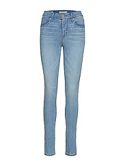721 HIGH RISE SKINNY STEAL MY - MED INDIGO - FLAT FINISH