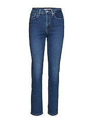 724 High Rise Straight Paris S Raka Jeans Blå LEVI´S WOMEN