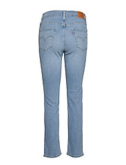 LEVI´S Women - 724 HIGH RISE STRAIGHT SAN FRA - slim jeans - light indigo - worn in - 1