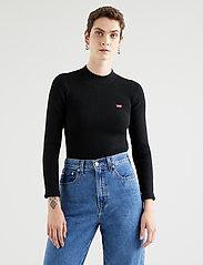 LEVI´S Women - CREW RIB SWEATER CAVIAR - trøjer - blacks - 0