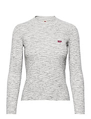 CREW RIB SWEATER THUNDER SPACE - GREYS