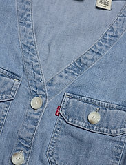 LEVI´S Women - BRYN DRESS LOOSEY GOOSEY (2) - jeansowe sukienki - light indigo - worn in - 2
