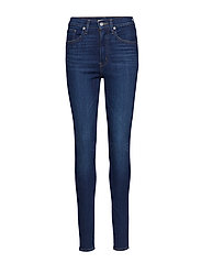 MILE HIGH SUPER SKINNY AND THE - MED INDIGO - FLAT FINISH