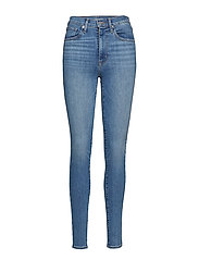 MILE HIGH SUPER SKINNY BUSINES - MED INDIGO - FLAT FINISH