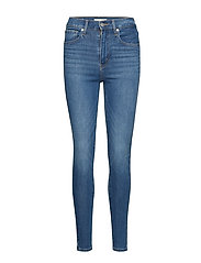 MILE HIGH SUPER SKINNY ON CALL - MED INDIGO - WORN IN