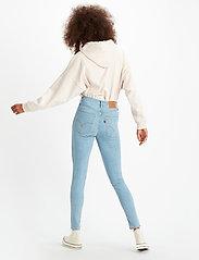 LEVI´S Women - MILE HIGH SUPER SKINNY BETWEEN - skinny jeans - light indigo - flat finis - 3