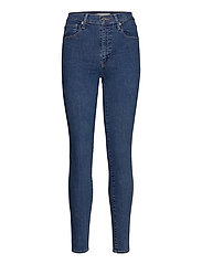 MILE HIGH SUPER SKINNY GALAXY - MED INDIGO - FLAT FINISH