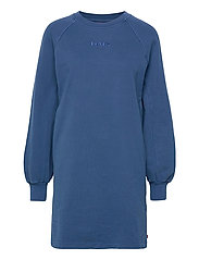 FRANNIE SWEATSHIRT DRESS NAVY - BLUES