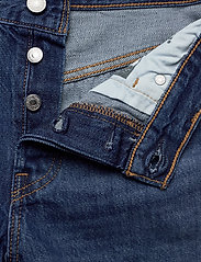LEVI´S Women - 501 SHORT LONG SANSOME DRIFTER - denimshorts - med indigo - worn in - 3