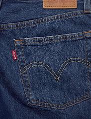 LEVI´S Women - 501 SHORT LONG SANSOME DRIFTER - denimshorts - med indigo - worn in - 4