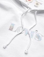 LEVI´S Women - GRAPHIC RIDER HOODIE HOODIE RI - sweatshirts & hættetrøjer - neutrals - 2