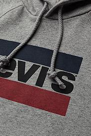 LEVI´S Women - GRAPHIC SPORT HOODIE SPORTSWEA - sweatshirts & hættetrøjer - greys - 2