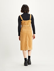 LEVI´S Women - CALLA DRESS ICED COFFEE - midi kjoler - neutrals - 3