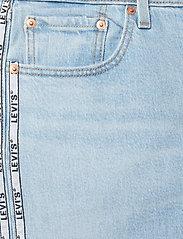 LEVI´S Women - 501 CROP DIBS W/ TAPE - straight jeans - light indigo - worn in - 4
