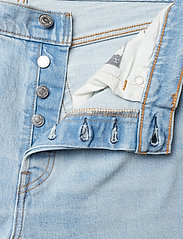 LEVI´S Women - 501 CROP DIBS W/ TAPE - straight jeans - light indigo - worn in - 5
