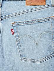 LEVI´S Women - 501 CROP DIBS W/ TAPE - straight jeans - light indigo - worn in - 6