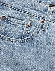 LEVI´S Women - 501 CROP LUXOR RA - straight regular - light indigo - worn in - 2