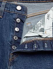 LEVI´S Women - 501 CROP CHARLESTON PRESSED - straight jeans - dark indigo - flat finish - 3